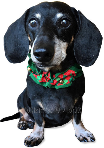 Christmas Scrunchie Dog Collar