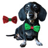 Holiday Sparkle Dog Bow Tie