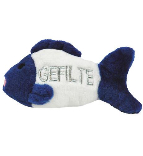 Talking Gefilte Fish Dog Toy