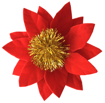 Poinsettia Collar Bloom