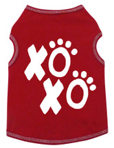 XOXO Hugs & Kisses Dog Tank Style Shirt