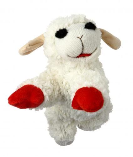 "Lamb Chop Large 10"" Dog Toy"