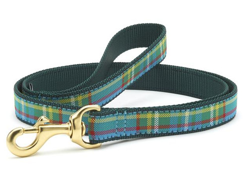 Kendall Plaid Dog Leash