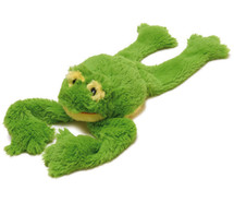 Super Squeaky Frog Dog Toy