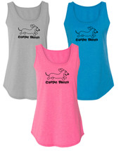 Carpe Diem Dachshund Workout Tank