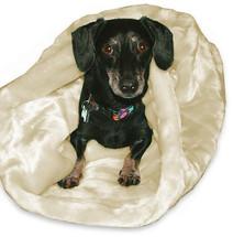 Dachshund Minky Snuggle Bag Bed Polar Bear