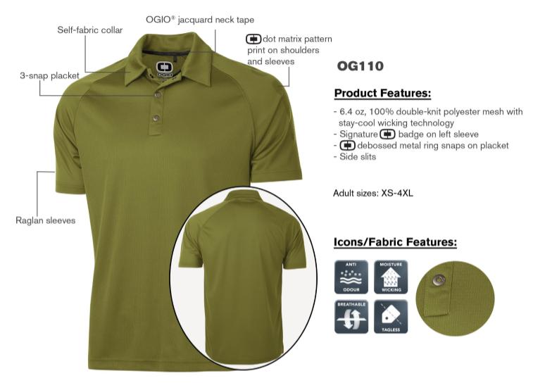 af8d4645 OGIO OPTIC POLO mens golf shirt : Bad Girlfriend Roller Skates Canada