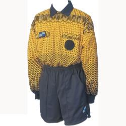 5014NC NISOA Coolwick LS Gold Grid Shirt