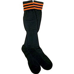 1309O The Italian Ref Sock, Orange Stripe