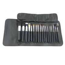 18 Piece Real Hair Professional Brush Set