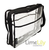 LimeLily Clear Satchel Bag