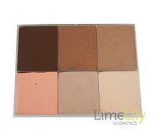 LimeLily 6 Colour Contour & Highlight Palette