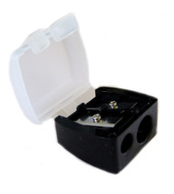LimeLily Black Dual Pencil Sharpener