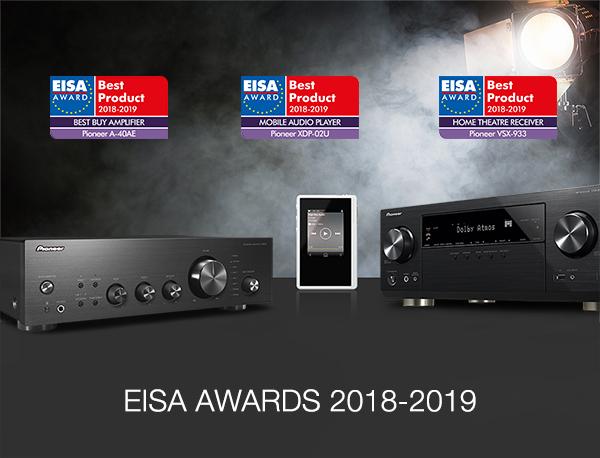 Pioneer EISA Award Winners