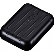Just Mobile Gum++ Power Pack - Black - PP-268BK