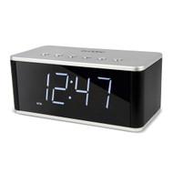 Buddee Bluetooth Alarm Clock FM, AUX, SD, USB - BD903209-BK