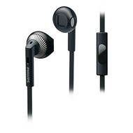 Philips In-EarBud with Mic Black - SHE3205BK