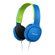 Philips Over Ear Kids Headphones Blue - SHK2000BL