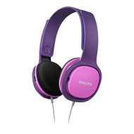 Philips Over Ear Kids Headphones Pink - SHK2000PK