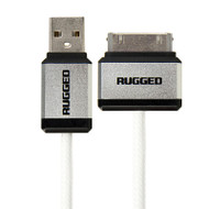 Gecko Rugged 30-Pin to USB Round Cable 1.2m - White