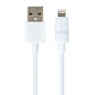 Gecko Lightning to USB Smart LED Cable 1.2m - White
