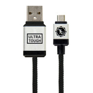 Gecko Ultra Tough Micro-USB to USB Cable 1.5m - Black