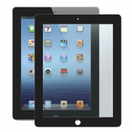 Gecko Bubble-Free Screen Protector for iPad 2/3/4 - Black - 1 Pack