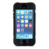Gecko Rugged Classic Case for iPhone 5/5s/SE - Black/Black