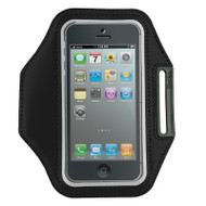 Gecko Active Sports Armband for iPhone 5/5s/SE & iPod Touch 5/6 - Black/Grey