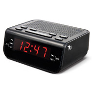 Gecko Dual Alarm Digital Clock Radio - Black