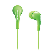 Pioneer fully enclosed Green Dynamic earphones - SECL502G