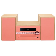 Pioneer X-CM56D Micro Sound System Red/Pink DAB+ - CM56DR