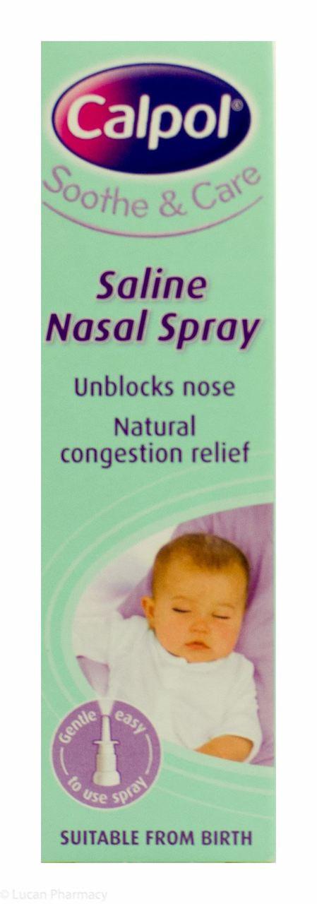 Calpol 174 Soothe And Care Saline Nasal Spray 15ml Lucan