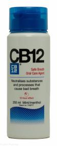 CB12® Mouth Rinse Menthol/Mint Flavour - 250ml