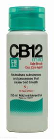 CB12® Mild Mouth Rinse Menthol/Mild Mint Flavour - 250ml