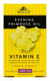 Beeline Evening Primrose Oil with Vitamin E Premium Strength 1000mg