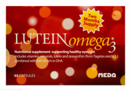 LUTEIN Omega 3® Healthy Eyesight Supplement - 60 Capsules
