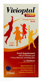 Vivioptal® Junior Orange Flavour Syrup - 250ml