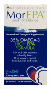 MorEPA® Smart Fats Fish Oil Omega 3 Supplement - 60 Softgels