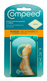 Compeed® Medium Bunion Plasters - 5 Plasters