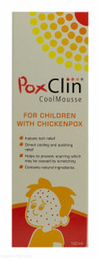 PoxClin® Cool Mousse For Chicken Pox -100ml