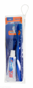 Dr.Fresh Travel Bag With Toothpaste, Toothbrush and Cover