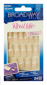 Broadway Nails® Real Life® Petites In Peach - Short Length