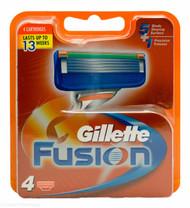 Gillette® Fusion Razor Blades - 4 Pack