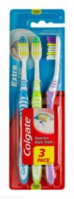 Colgate® Extra Clean Medium Toothbrush 3 Pack