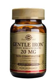 Solgar® Gentle Iron™ 20mg – 90 Capsules