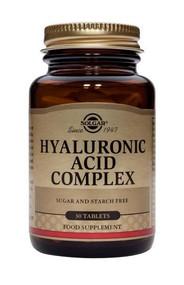 Solgar® Hyaluronic Acid Complex – 30 Tablets