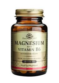 Solgar® Magnesium With Vitamin B6 – 100 Tablets