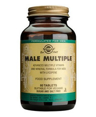 Solgar® Male Multiple – 60 Tablets