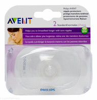 Lucan Pharmacy AVENT Nipple Protectors - Standard 21mm (2 Pack)